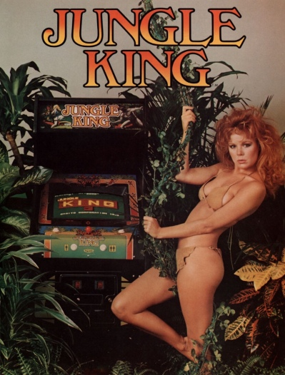 Jungle King-arcade-flyer