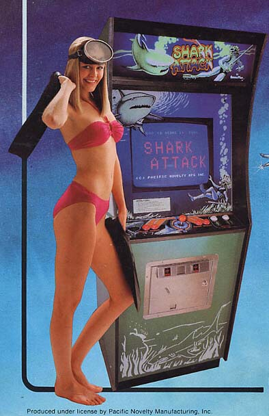 Shark Attack-arcade-flyer