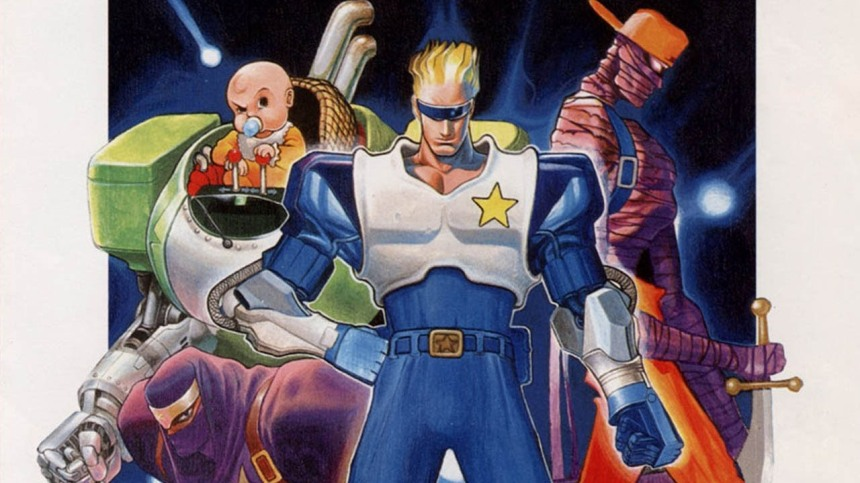 Captain commando-capcom-the-splintering