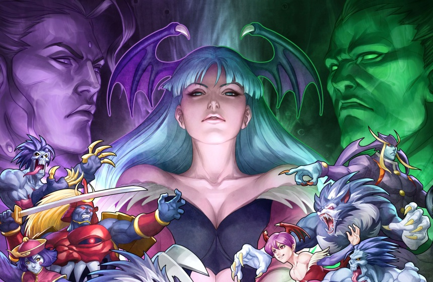 darkstalkers-night warriors-morrigan-the splintering-capcom