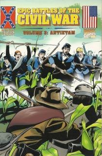 epic battles of the civil war-marvel-the splintering-antietam