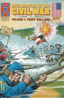 epic battles of the civil war-marvel-the splintering-bull run