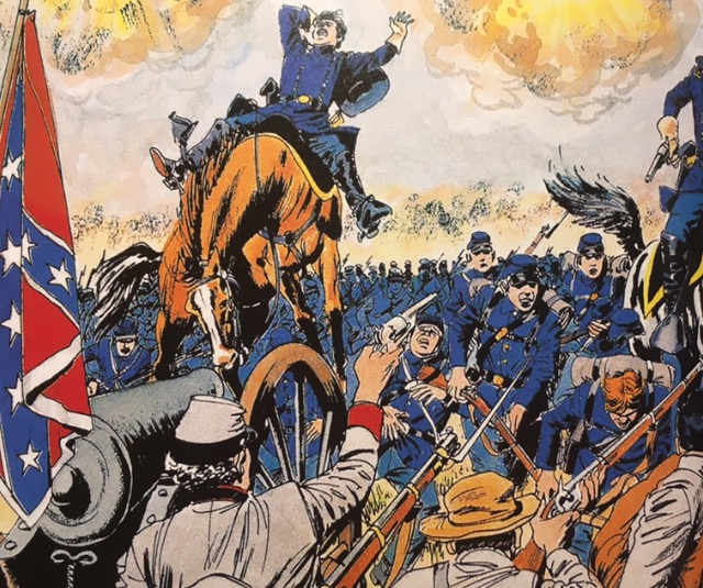 epic battles of the civil war-marvel-the splintering-cavalry