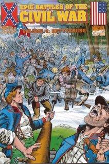 epic battles of the civil war-marvel-the splintering-gettysburg