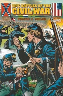 epic battles of the civil war-marvel-the splintering-shiloh