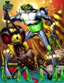 Ethan van sciver-cyberfrog blood honey-the splintering-swarm color