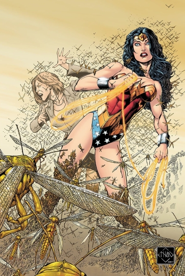 Ethan van sciver-cyberfrog blood honey-the splintering-wonder woman-dc comics