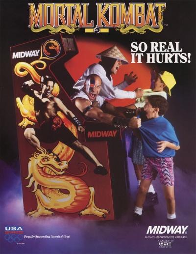 Mortal Kombat-arcade-flyer