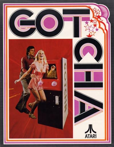 Gotcha-arcade-flyer