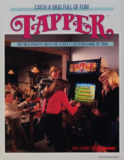 Tapper-arcade-flyer