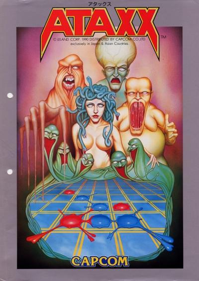 ataxx-arcade-flyer