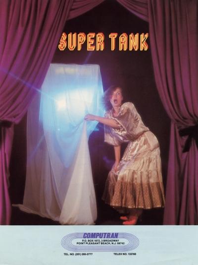 Super Tank-arcade-flyer