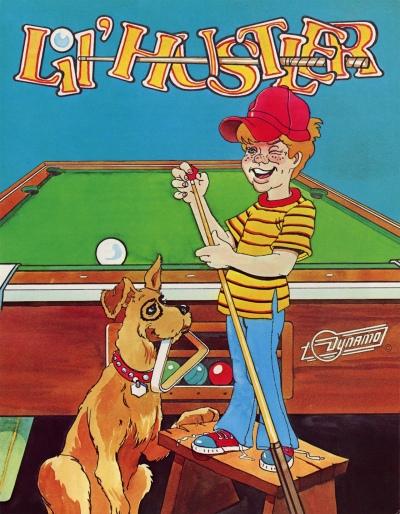 Lil Hustler-arcade-flyer