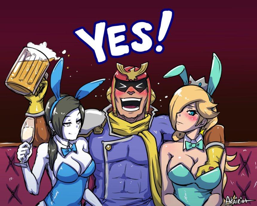 Star-Fox-Grand-Prix-captain-falcon-wii-fit-trainer-rosalina-beer-the-splintering