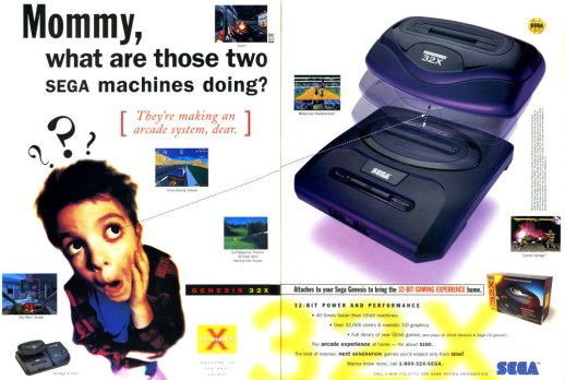 The Splintering_Cheeky gaming ads_Sega_32X
