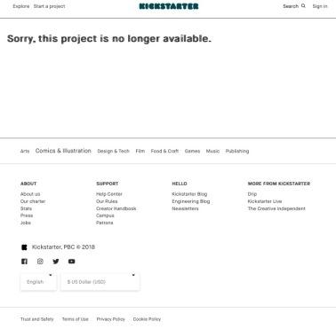 fake cyberfrog kickstarter-the splintering