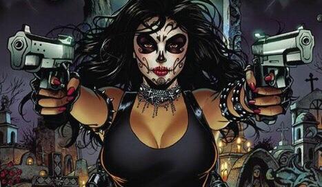 la muerta banner art-coffin comics-the splintering
