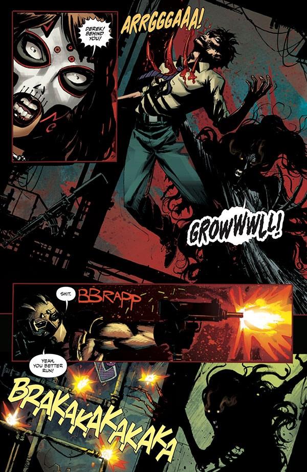 la muerta retribution-coffin comics-the splintering-sample page