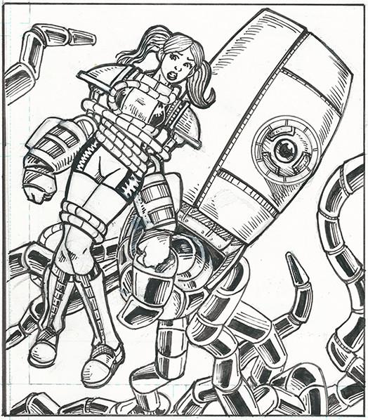Beatdown girl-indiegogo-the splintering-tentacle