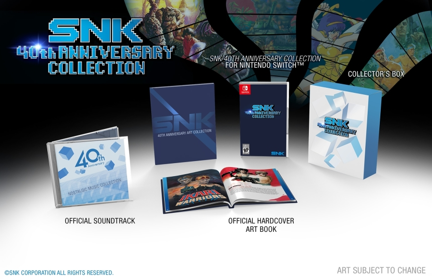 SNK 40th anniversary collection limted edition-the splintering-2
