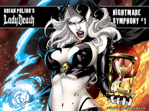 The Splintering_lady death_nightmare symphony_Kickstarter