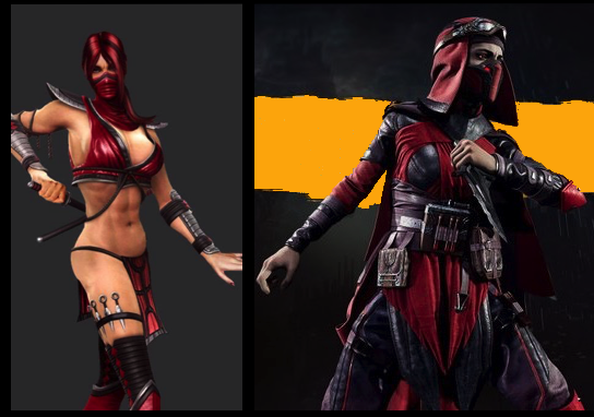 skarlet mk11_the splintering_new_old_costume_comparison