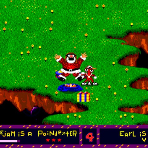 Santa Claus_toejam and Earl_SEGA_Genesis_the splintering