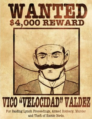 Pistolera_wanted poster_The Splintering_western_comic
