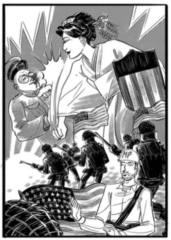 Iva Toguri_Tokyo Rose_the Splintering_hero poster
