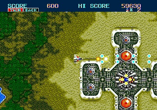 review_thunder_force_II_the_splintering_sega_genesis_mega_drive_overhead_screenshot