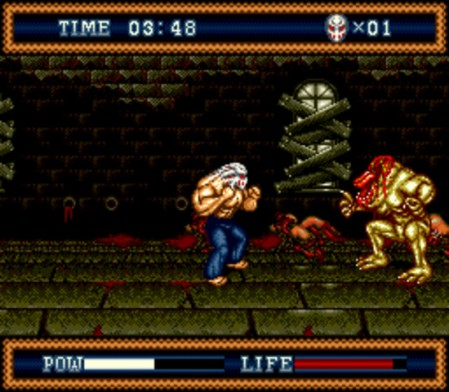 the_splintering_festival_of_dread_sega_genesis_review_splatterhouse_3_boss_1