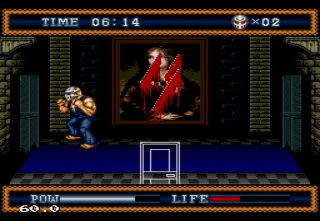 the_splintering_festival_of_dread_sega_genesis_review_splatterhouse_3_painting