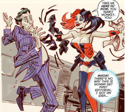 Harley Quinn_hot in the city_amanda connor_jimmy palmiotti_dc comics_art.png