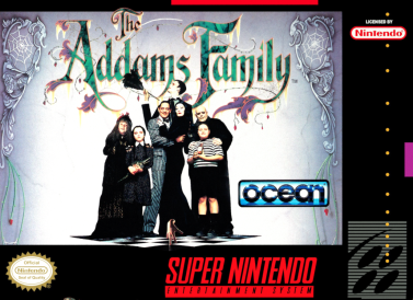 The Addams Family_review_SNES_box_art