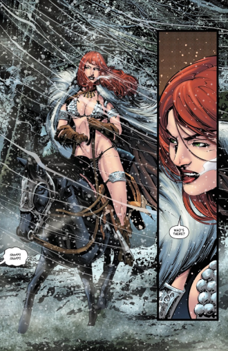 Red Sonja_holiday special_comic_book_review_jolly_jinglings_dynamite_comics_horse.png