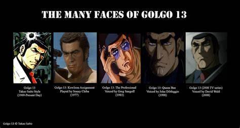 golgo13faces