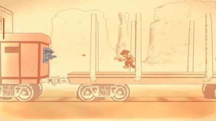 gunman-clive-video-game-review-monochrome-may-the-splintering-train