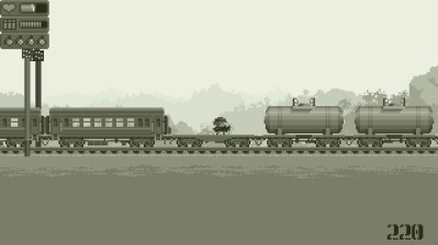 Gunpowder-on-The-Teeth-Arcade-review-nintendo-switch-monochrome-may-the-splintering-train