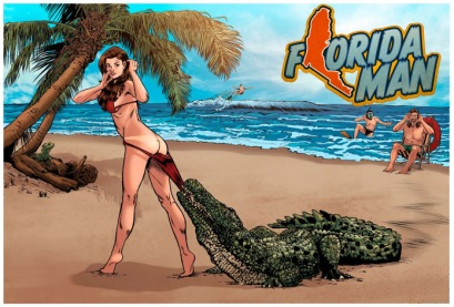 Florida_man_indiegogo_comic_book_the_splintering_beach_alligator